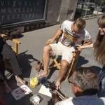 A Mozgássérültek Budapesti Egyesületének és a Poli-Farbe festékgyár szervezésében